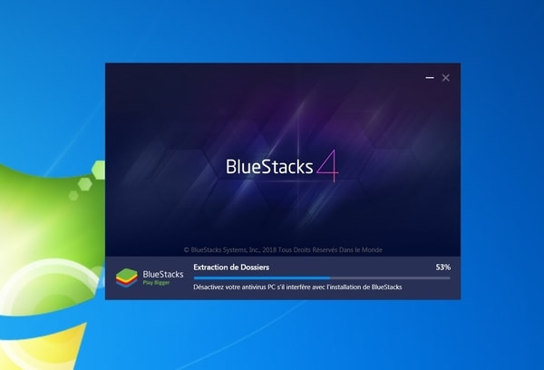 Bluestacks installation