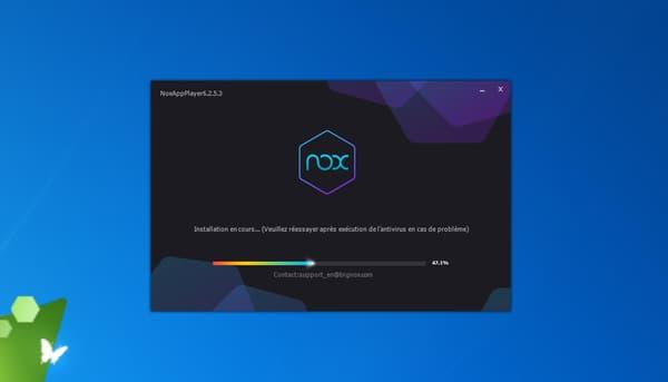 Install of Nox App Plater
